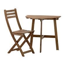Ikea Folding Wall Table Askholmen Wall Table Folding Chair Outdoor Askholmen Gray