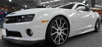 chevy camaro with rims chevrolet camaro ss 22 inch savini sv26 s white wheels