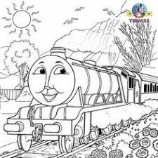 cartoon thomas tank engine coloring sheets printable kids