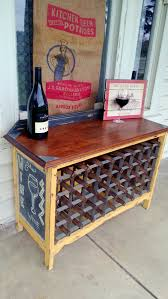 a very french side table love affair a unique wine rack and