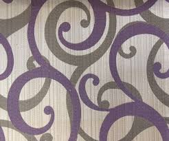 Lavender Drapery Panels Purple Scrolls Fabric By Yard Purple Curtain Fabric Upholstery