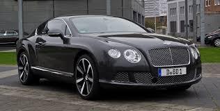 bentley wald continental gt black 21 bentley continental gt top 50 whips
