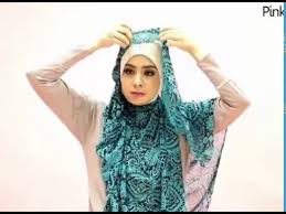 tutorial hijab syar i ala risty tagor tutorial hijab syar i yang stylish ala artis risty tagor youtube