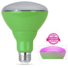 Incandescent Light Spectrum Feit Electric 65w Equivalent Br30 Full Spectrum Led Plant Grow