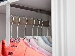Closet Rods Transforming An Attic Into A Closet Hgtv