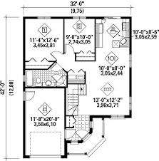 Small Single Story House Plans Fine Simple 1 Story Floor Plans House Designs T And Design Ideas