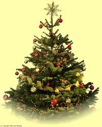 decoration ideas mini tree with light figure