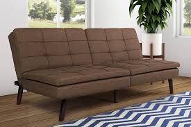 Best Futons Amazon Com Dhp Premium Westbury Linen Pillowtop Futon Brown
