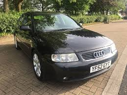 2002 52 audi a3 sport 1 8 turbo petrol manual 150 bhp in