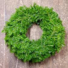6 pack of plain balsam wreaths machias bay wreathmachias bay wreath
