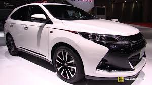 ww toyota motors com 2016 toyota harrier g sports exterior and interior walkaround