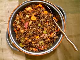 thanksgiving side salads thanksgiving side dish wild rice and fruit salad kitchen report