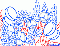 How To Draw A Bed How To Draw Wildflowers Step By Step Flowers Pop Culture Free