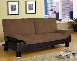 Julia Convertible Futon Sofa Bed With Drink Holder Belle Faux