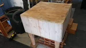 oregon woodworker by andy margeson garage workshops i have my tool chest and an antique butcher block that i will be using as a joinery bench i raised it up to be 38