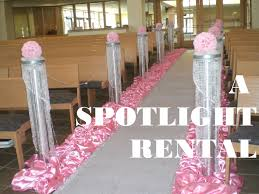 Pillars And Columns For Decorating Ceremony Wedding Decoration Pink Wedding Decoration Beautiful