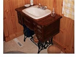 Refurbished Bathroom Vanity 3 Ways To Repurpose An Antique Sewing Machine Base Homejelly