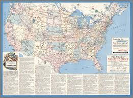 Atlas Map Of The United States by Road Map Of The United States Except Alaska And Hawaii Mcmlxii
