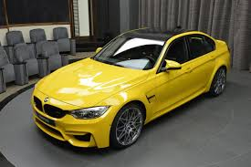 Bmw M3 Truck - bmw m3 in individual speed yellow races into abu dhabi