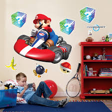 mario kart wii project for awesome mario wall decals home decor