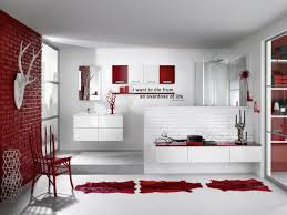 Black And White Bathrooms Ideas by Bathroom Red And Black Bathroom Decor Red Bathroom Sets Walmart
