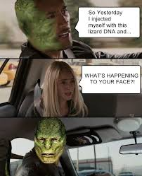 Meme Indo - the rock driving lizard meme the rock driving know your meme