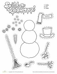 winter worksheets for preschoolers free worksheets library