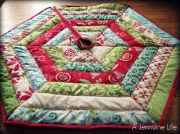 12 days of christmas tree skirt a jennuine life