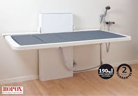 Change Table Height Ropox Height Adjustable Changing Bench