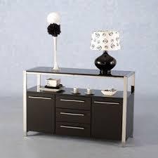 Black Modern Sideboard Stefan Hi Gloss Black Modern Sideboard 6780 Furniture In