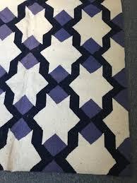 Blue And Black Rug Rugs U0026 Pillows U2013 Elizabeth Jackson Estate Sales