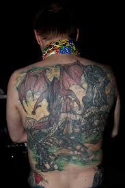 full back tattoos for men tattoos for men