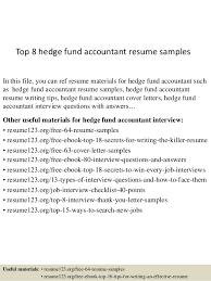 free accountant resume top 8 hedge fund accountant resume sles 1 638 jpg cb 1432734767