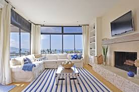 Striped Sofas Living Room Furniture by Glossy Coffee Table Top White Living Room Walls With Accent Wall