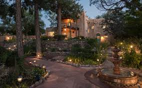 santa fe bed and breakfast acres of beautiful gardens