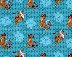 lion king wrapping paper half lion etsy