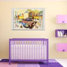 pvc pet elf window art wall decal mural 50 70cm removable cartoon pvc pet elf window art wall decal mural 50 70cm removable cartoon pocket baby wall stickers for kids room and kindergarten home decoration stickers for wall