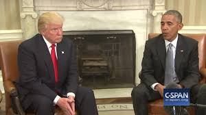 president obama u0026 president elect trump in oval office c span