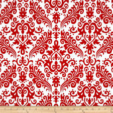 riley blake large damask white red home colors and damasks