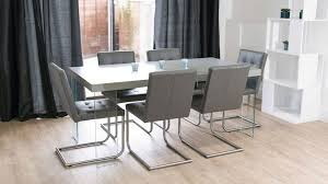 grey oak dining table and bench grey oak dining table with glass legs real leather quilted dining