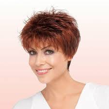 feathered brush back hair 90 classy and simple short hairstyles for women over 50