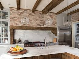 kitchen range backsplash 47 brick kitchen design ideas tile backsplash accent walls