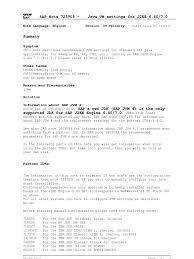sapnote 0000723909 java virtual machine java programming