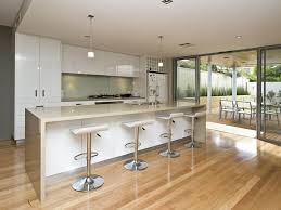 modern island kitchen designs modern island kitchen design using floorboards kitchen photo 433840
