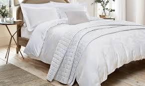 sanderson hortensia white bedding fishpools