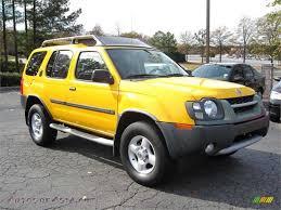 2004 nissan xterra lifted nissan xterra 2004 yellow image 233