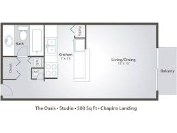 500 Sq Ft Studio Apartment Floor Plans U0026 Pricing U2013 Chapins Landing In Pensacola Fl