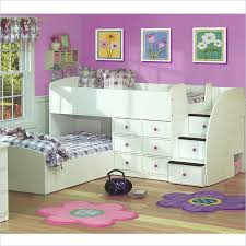 Nice White Twin Over Full Bunk Bed  MYGREENATL Bunk Beds  White - Twin over full bunk bed with storage drawers