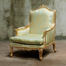 Louis 15th Chairs Buy Louis Xv Sofa 1 Seater Gold Leaf Mahogany Antique Furniture