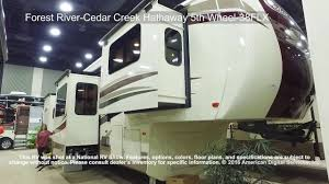 Forest River Cardinal Floor Plans Fifth Wheel Forest Rv Forest River Cedar Creek Hathaway 5th Wheel 38flx Youtube